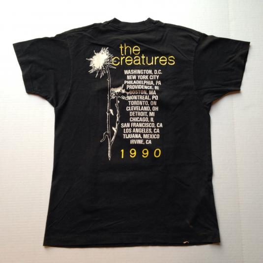Vintage 1990 The Creatures Siouxsie Sioux t-shirt