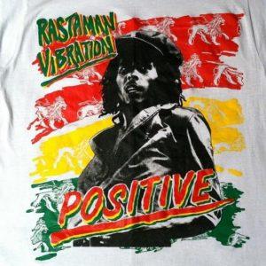 Vintage 1980's deadstock Bob Marley medium t-shirt
