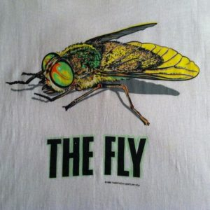 Vintage The Fly horror movie David Cronenberg t-shirt