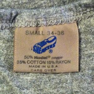 Vintage 1980's triblend Nike tank top rayon blend Sneakers
