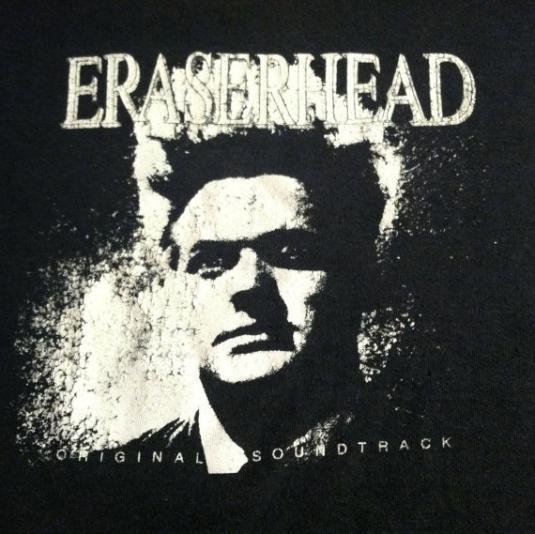 Vintage 1982 Eraserhead David Lynch movie soundtrack t-shirt