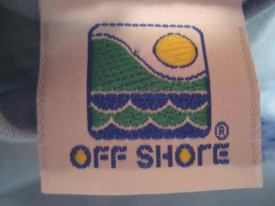 Vintage 1980's Off Shore surf t-shirt, adults S or kids XL