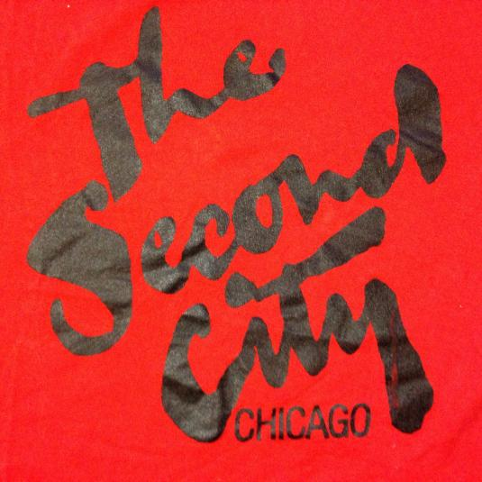 Vintage 1980's The Second City comedy club t-shirt