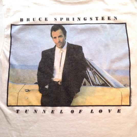 Vintage 1988 Bruce Springsteen Tunnel of Love t-shirt