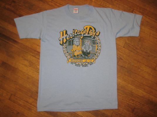 Vintage 1980's Heritage Days t-shirt, St. Paul Park, MN