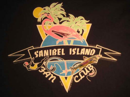 Vintage 1980's Sanibel Island vacation t-shirt, S M
