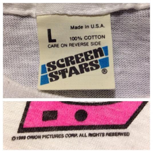 Vintage 1980's UHF Weird Al Yankovic movie t-shirt