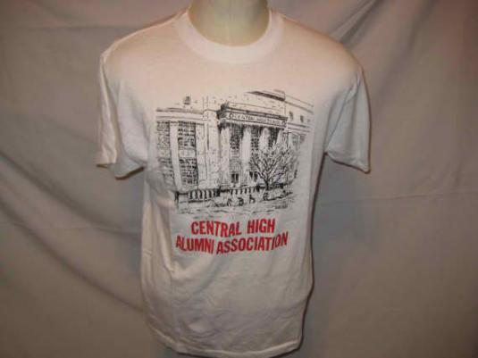 80s High School Alumni vintage t-shirt, L XL