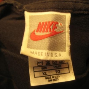 vintage 1990's Nike Barry Sanders t-shirt, XL, grey tag