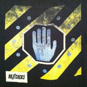 Vintage 1989 Buzzcocks concert tour t-shirt