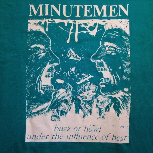 Vintage 1980's Minutemen punk rock t-shirt