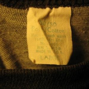 Vintage 1984 Jethro Tull world tour raglan t-shirt