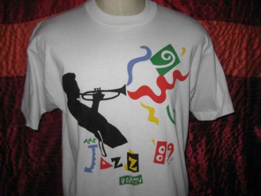 Vintage 1989 jazz fest t-shirt, XL