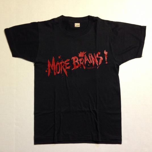 Vintage 1985 Return of the Living Dead zombie movie t-shirt