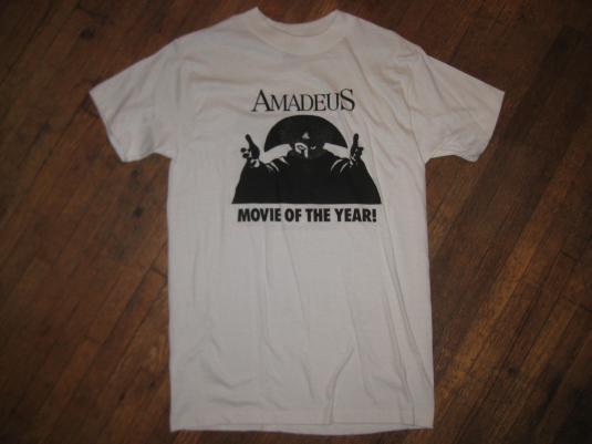 Vintage 1980s Amadeus movie promo t-shirt