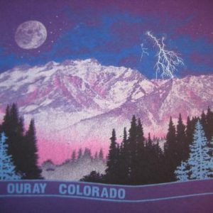 Vintage 1990 t-shirt, Ouray, Colorado, L-XL