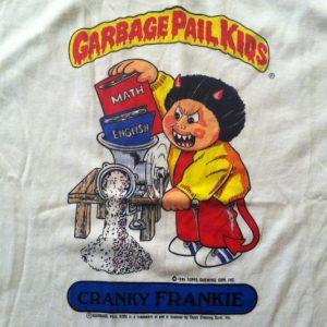Vintage 1980's Topps Garbage Pail Kids t-shirt