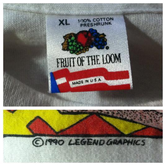 Vintage 1990 deadstock Bob Marley t-shirt