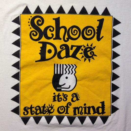 Vintage 1980's School Daze movie t-shirt