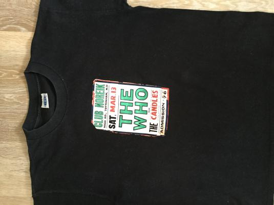 1960s THE WHO T-shirt