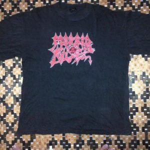 Vintage 1990 Morbid Angel Official Merchandise T Shirt