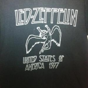 1970's LED ZEPPLIN T SHIRT