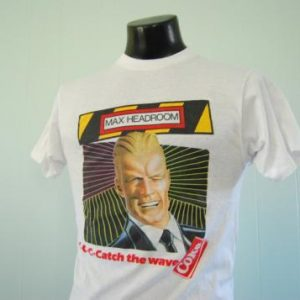 Vintage Max Headroom TShirt Coke Neon Shirt Insanely Soft