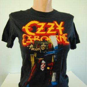 Authentic Vintage Ozzy Osbourne TShirt Speak Devil Tour