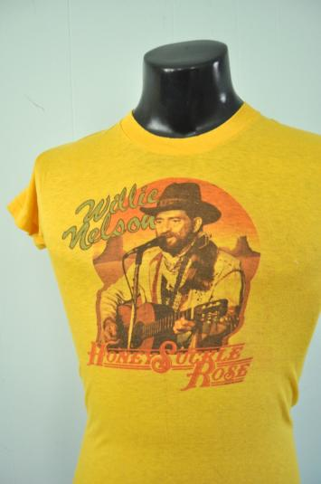 1980 Willy Nelson Tee Honeysuckle Rose Movie 80s Tee Country