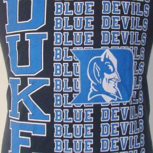 Vintage 80's DUKE Blue Devils t shirt M