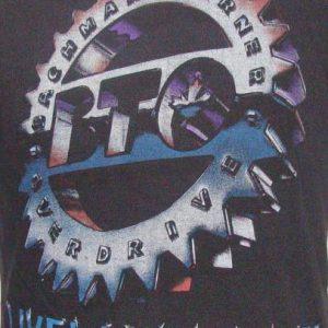 Vintage 86' BTO Bachman Turner Overdrive tour t shirt