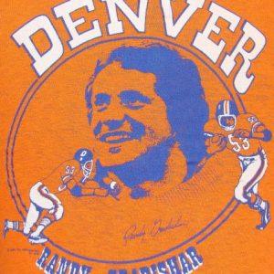 Vintage 1974 Denver Broncos Randy Gradishar t shirt S
