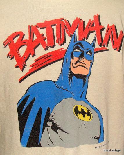 Vintage 88′ Batman DC comics t shirt XL