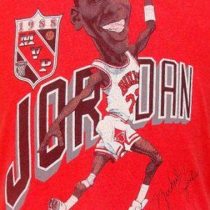 Vintage 88' Michael Jordan caricature t shirt M