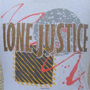 Vintage 1986 Lone Justice Tour t shirt XL