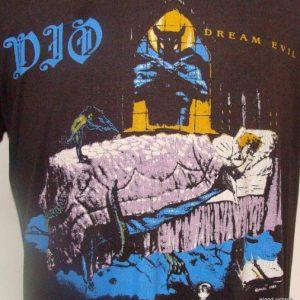 Vintage 1987 DIO rock metal t shirt