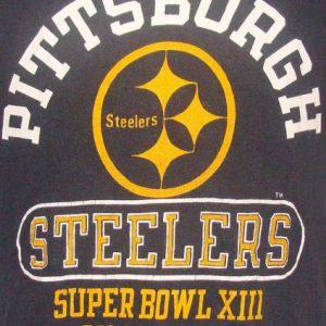 Vintage 79' Piitsburgh Steelers Super Bowl XIII Champions t