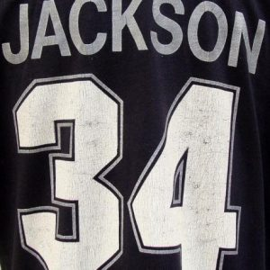 Vintage 80's RAIDERS 34 JACKSON football throwback jersey L