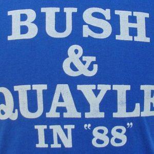 Vintage 88' Bush and Quayle t shirt