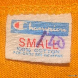 Vintage 70's Colorado Champion blue bar jersey shirt S