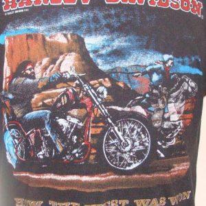 Vintage 85' Harley Davidson Al choppersnCanada t shirt L
