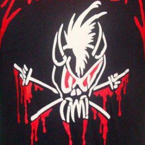 Vintage 90's Metallica live shot binge & purge rock t shirt
