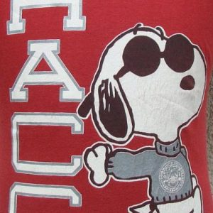 Vintage 80's HACC Snoopy jersey shirt M
