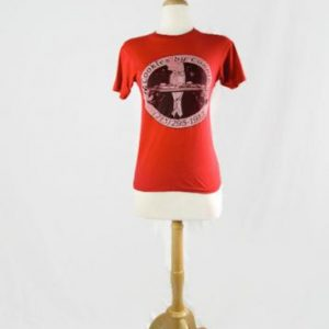 Vintage 1980's Cookies by Connie Red T Shirt Hanes 50/50