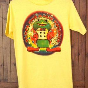 Froggy the Gremlin Plunk Your Magic Twanger 1970s Tee