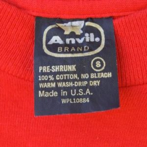 1980s Mallory Ignition Vintage T Shirt By Anvil Brand