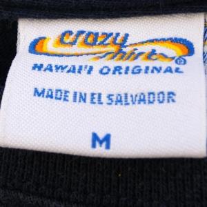 1980s Vintage T-Shirt Navy Blue Haleakala Bike the Crater