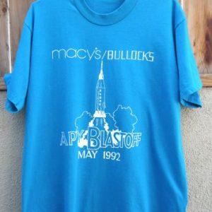 May 1992 Macy's/Bullocks APY Blastoff T-ShirtAsk a Questio