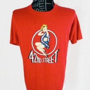 Vintage 42nd Street T-Shirt Screen Stars 1990s Broadway