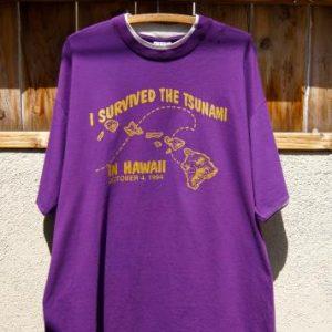 Vintage 1994 Signal Sports T-shirt - I Survived The Tsunami